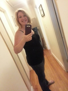 5 weeks postpartum (most recent pic!)